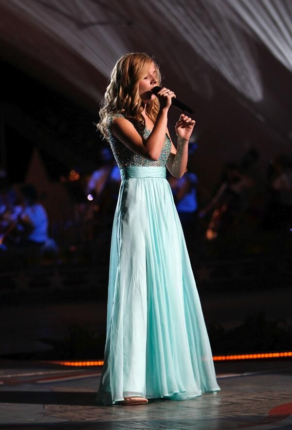 """Jackie Evancho - child prodigy opera soprano. At age 10, released her first album and gained broad exposure on """"America's Got Talent."""""""
