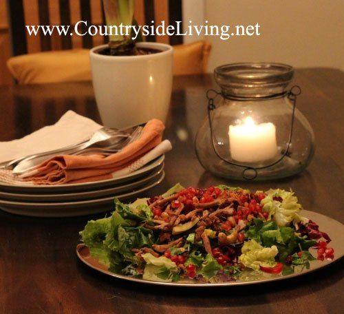 Салат из индейки (рецепт Джейми Оливера)