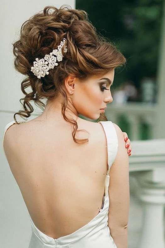 Peinados Altos Para La Novia Fotos De Los Mas Elegantes Peinado - Los-recogidos-mas-elegantes