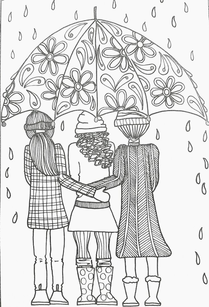 Inkspirations adult coloring page