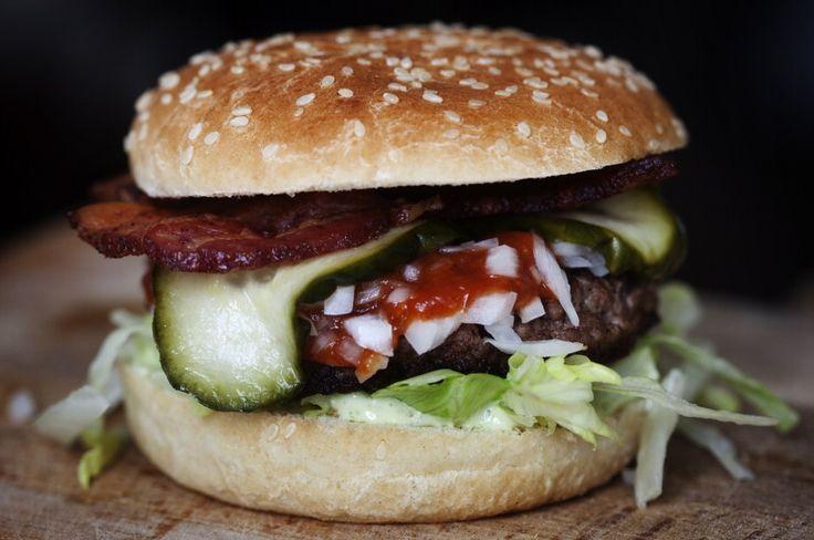 Den perfekte burger - Foto: NIELS CHRISTENSEN