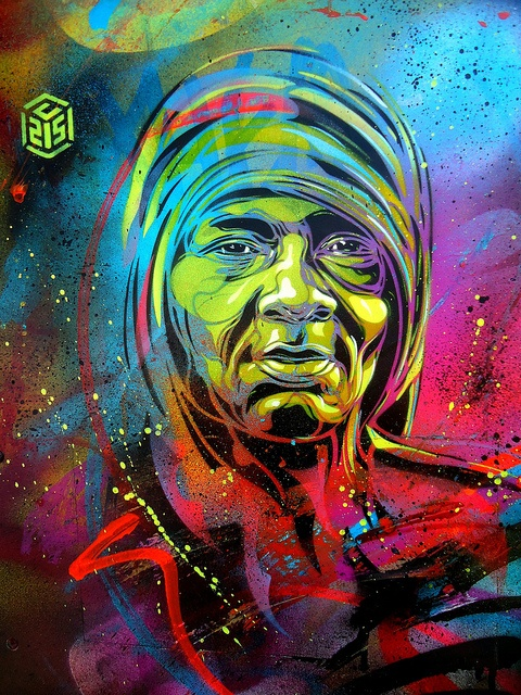 C215 - Amsterdam by C215, via Flickr