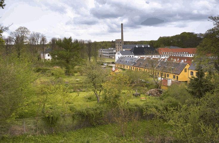 Haverne ved arbejderboligl�ngen
