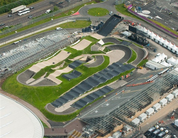 Find This Pin And More On BMX Bikes Aerial Photo Of The Olympic Track