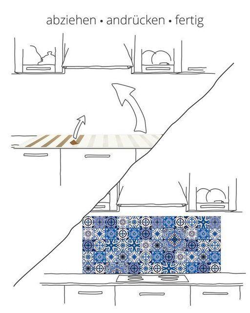 Küchenrückwände »Abstrakte Motive Muster Fotog…