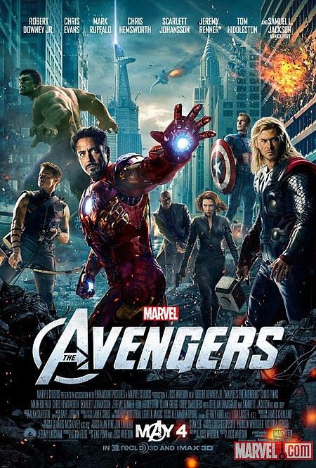 Marvel's The Avengers Assemble Poster! - Take a look at the entire superhero team brought together by director Joss Whedon in this ensemble adventure.