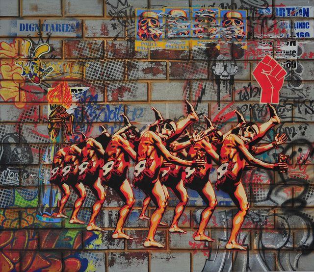 Khaya Witbooi, 'The long walk from freedom,' 2015, Worldart