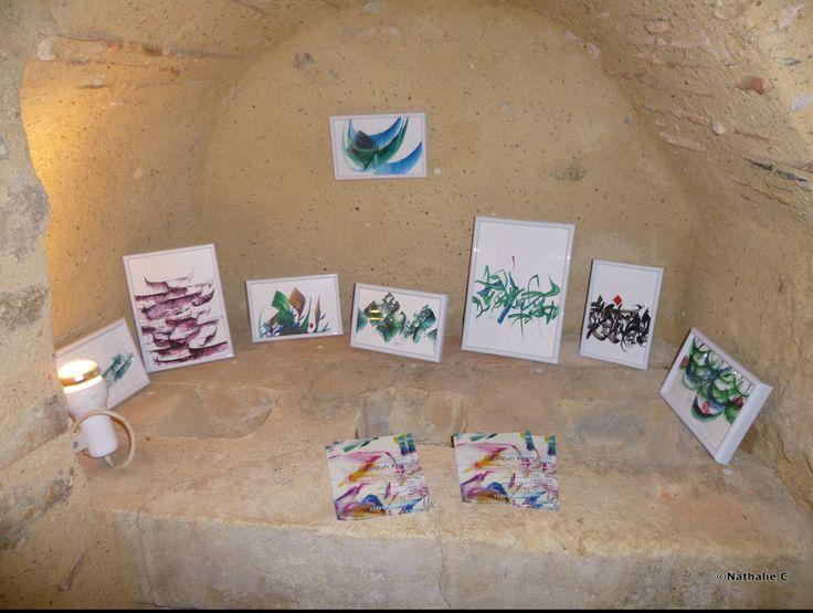 Les tableaux d'Abdollah Kiaie