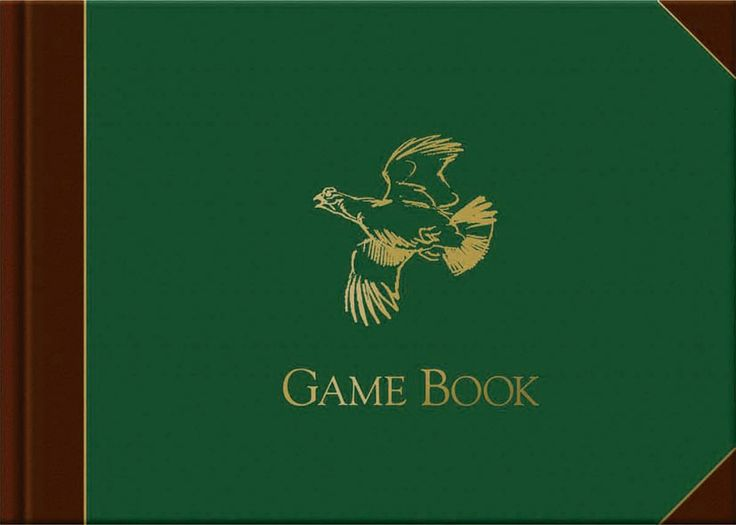 Game Book with illustrations by Rodger McPhail | Quiller Publishing. A beautifully produced journal for all game species, illustrated throughout with specially-commissioned watercolours by Rodger McPhail. McPhail is widely regarded as the foremost wildlife and sporting artist in the UK today and his works are amongst the most sought-after by collectors worldwide. #game #shooting #record #book