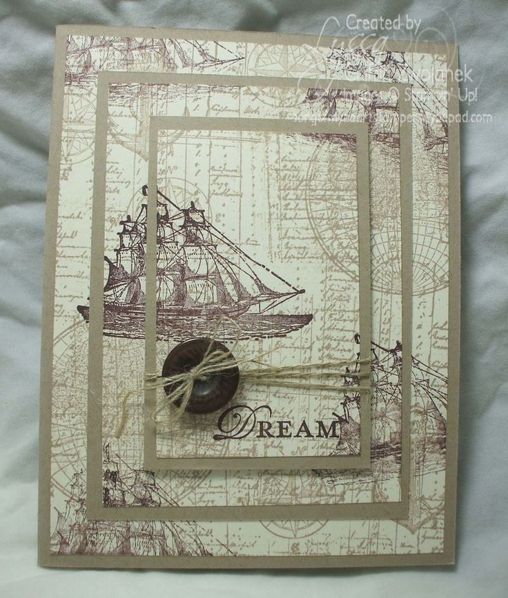 """Ascending Rectangles or """"triple time"""" stamping card layout  Free tutorials from songofmyheartstampers.com"""