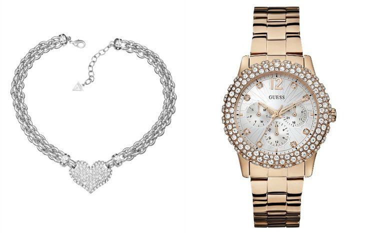 Orologi e bijoux esclusivi vi aspettano nel mondo Guess. Ideali come gift o da autoregalarsi, questi accessori renderanno glamour i vostri look. http://www.stilemagazine.it/bijoux-e-orologi-guess/