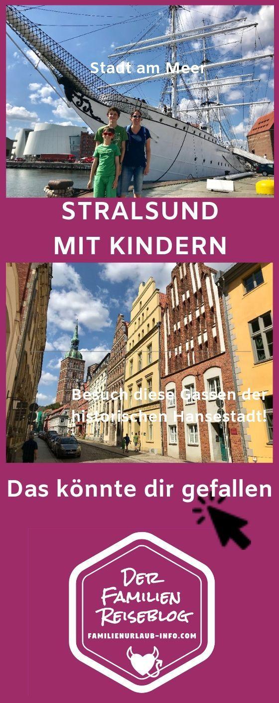 FAMILIENURLAUB STRALSUND mit Kindern Stadt & Ostsee