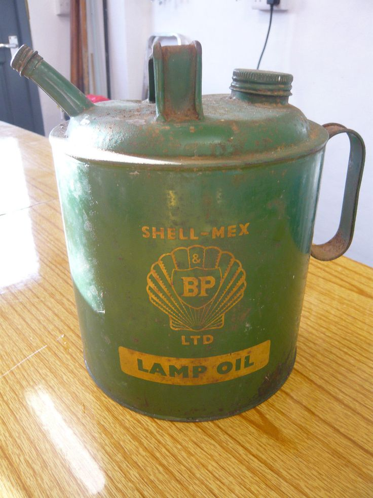 dating old oil cans