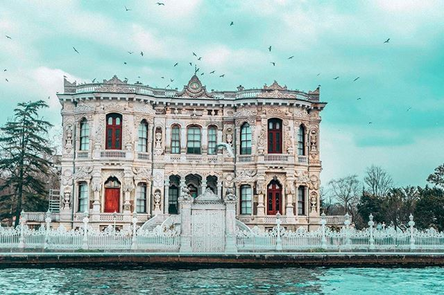 Jewels of Bosphorus Istanbul  we build castles with our fears and sleep in them like kings and queens Christopher Poindexter #havesomecolor
