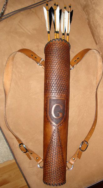 making an arrow quiver - Google Search