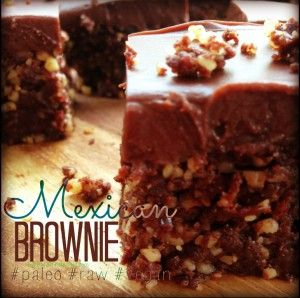 Mexican Chilli Brownie