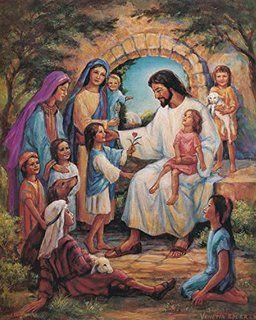 Amazon.com: Jesus Walking With Child / Christian 8 x 10 GLOSSY ...