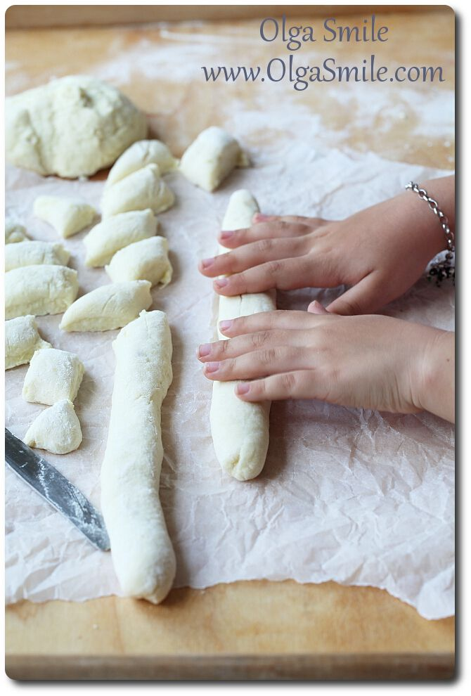 Kopytka przepis na ciasto - przepis | Kulinarne przepisy Olgi Smile