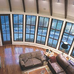 Triple Hung Windows For The Home Pinterest Wooden