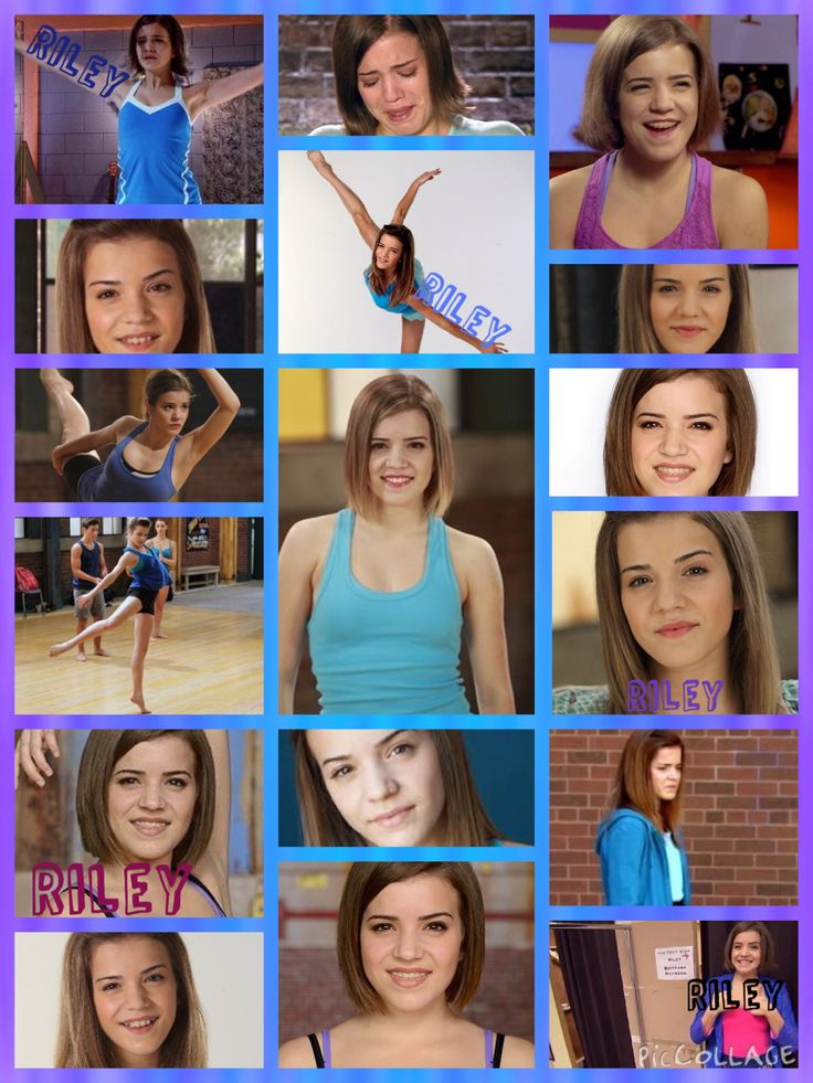 Riley/Brittany from The Next Step