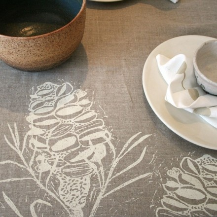 banksia and linen