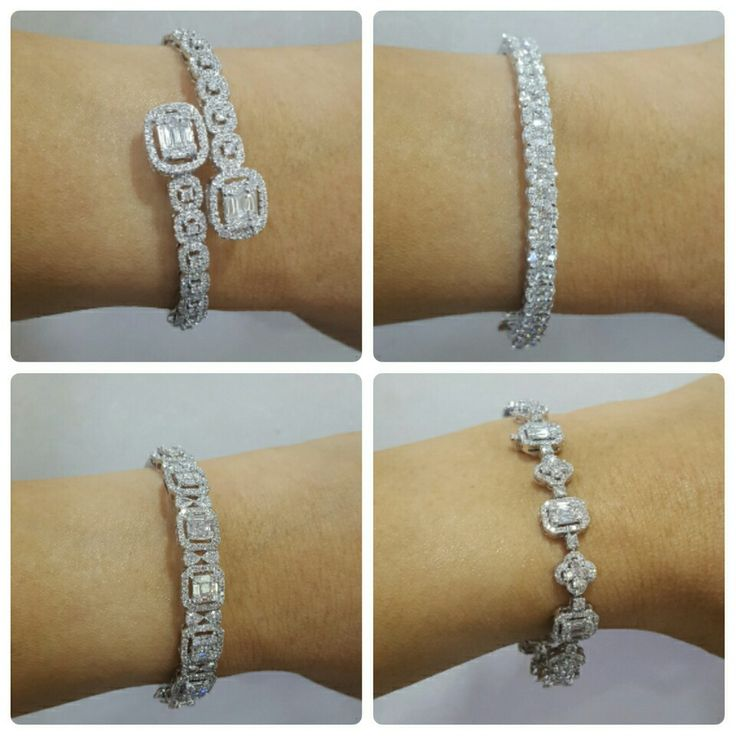 Diamonds bangles