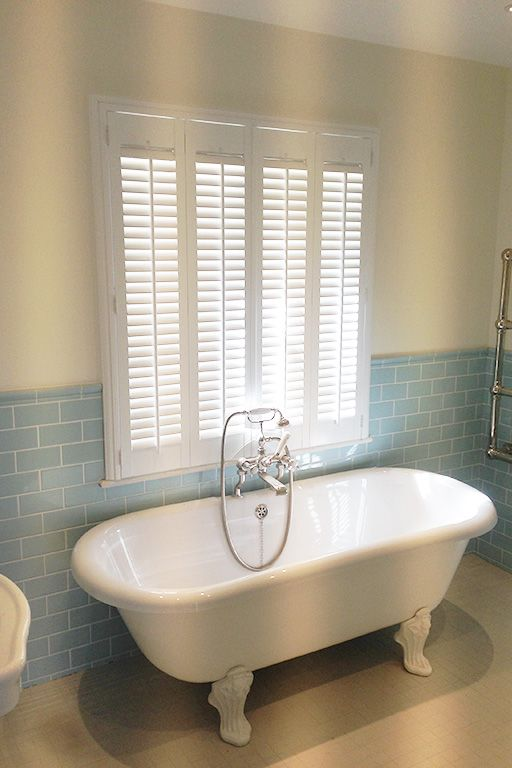 Full Height Shutters By Plantationshutters London Uk