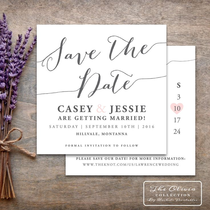 Save The Date Printable Save The Date With Calendar Wedding Rustic Digital PDF Square Spring Wedding Save The Date Cards Blush Grey Gray by RachelsPrintables on Etsy https://www.etsy.com/listing/258667932/save-the-date-printable-save-the-date