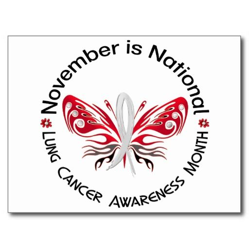 November - Lung Cancer awareness month