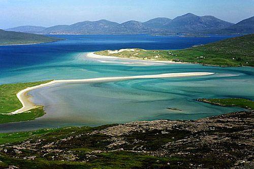Traigh Luskentyre (Luskentyre Beach) on the Isle of Harris
