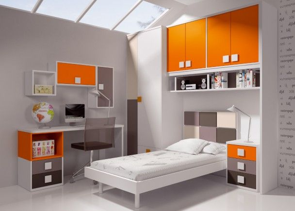 Las 25 mejores ideas sobre dormitorios naranja en - Habitaciones color naranja ...