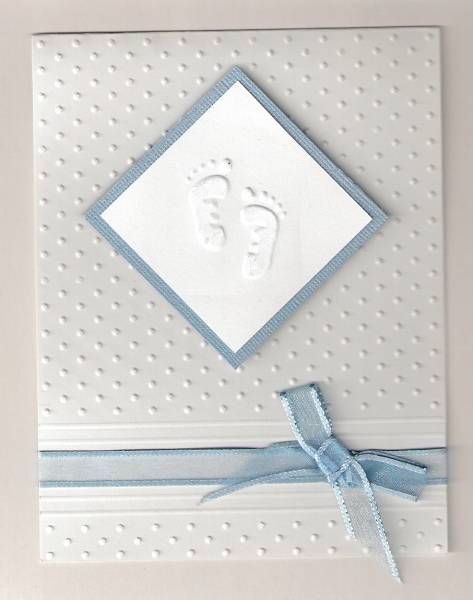 Baptism Card by llinzi - Cards and Paper Crafts at Splitcoaststampers