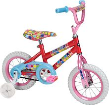 """Huffy - So Sweet 12"""" Girls' Bike (028914220321) Have fun outdoors with this Huffy So Sweet 22032 12"""" girls' bike that features holographic graphics for an attractive look. The crossbar pad helps keep your child safe while riding. 12'' So Sweet Bike"""