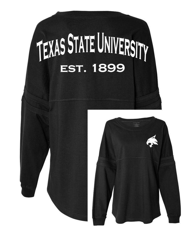 Spirit Jersey ~ Texas State ~ Bobcat ~ Texas State University ~ University…