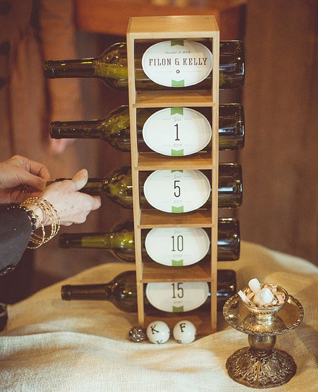 Message in a Bottle Display Guest Book Idea // Levy Moroshan Photography