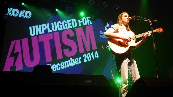 Sam Cooper performing at #UnpluggedForAutism. #autism #charity #gig #music #rock