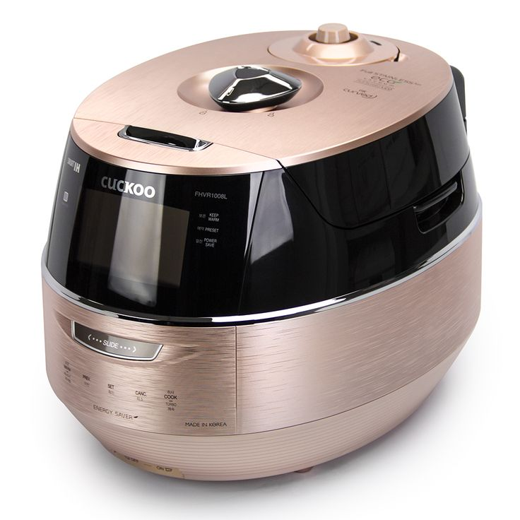 Cuckoo's Newest Rice Cooker, CRP-FHVR1008L Model, is here! With a full LCD Color Display, 61 Preset Recipes, and Vacuum Heat Retain Technology, the CRP-FHVR1008L is the most advanced rice cooker on the market! For more info, check out our site,