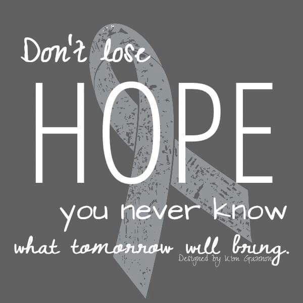 #BrainTumorThursday - Brain Cancer Awareness