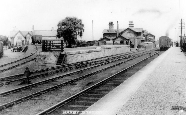 Haxby railway station