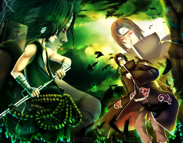 CM: Sasuke vs Itachi by kivi1230.deviantart.com on @DeviantArt