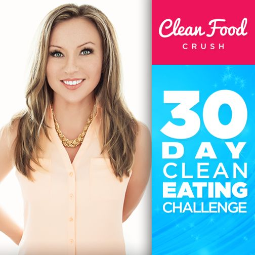 CleanFoodCrush Clean Eating Challenge If you need a more focused approach to work on losing weight through clean eating, join the 30 Day Challenge. During the challenge you work directly with Rachel Maser and her team. The challenge is NOT about starving, juicing, only drinking soups or smoothies, buying lots of supplements, or eating BORING meals. It's about REAL, CLEAN FOOD.