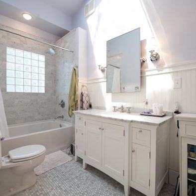 Bathroom white carrera marble design pictures remodel for Carrera bathroom ideas