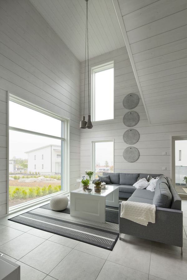 Honka Fusion - log homes with minimalistic details and urban look.