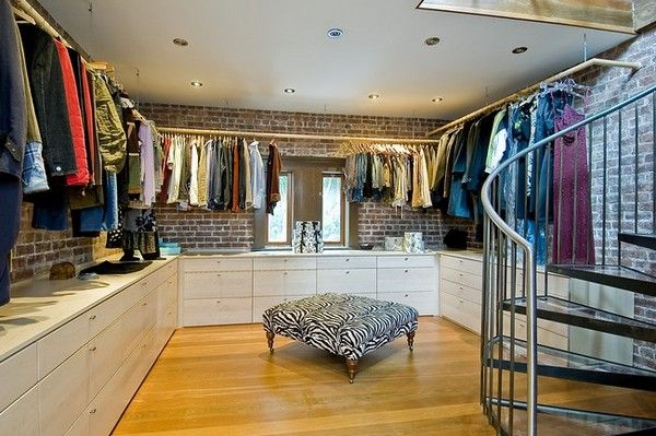 Dream closet - huge and completly organized!Church Convertible, Church Transformers, Open Spaces, House Ideas, Closets Room, Dreams House, Dresses Room, Closets Spaces, Dreams Closets
