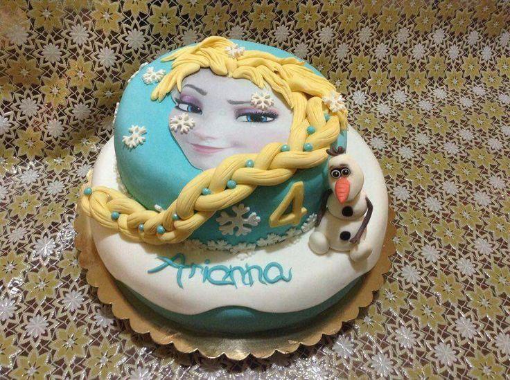 Frozen cake...