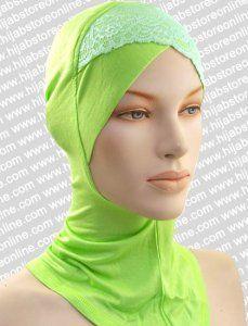 Ninja Inner Underscarf - Lace - Kiwi