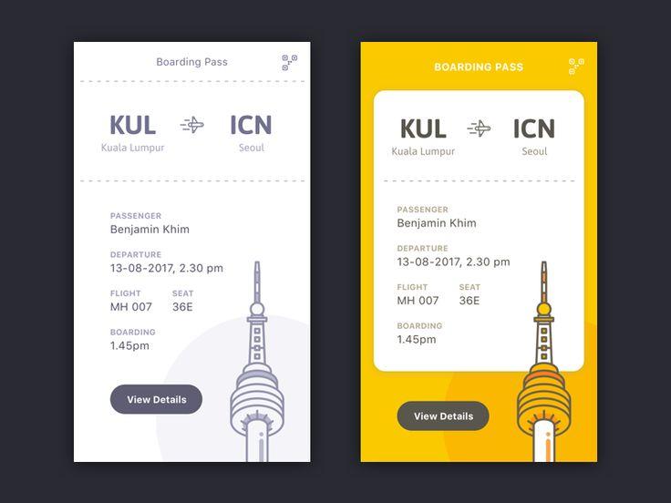 Book Flight UI