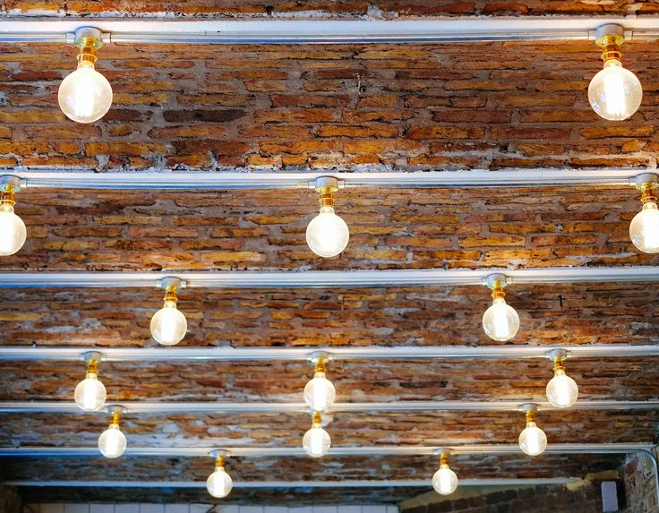 Urban Cottage Industrie large globe lightbulbs, taken by Jefferson Pires of Schoolboy Couture. In our Covent Garden branch of Ruffians
