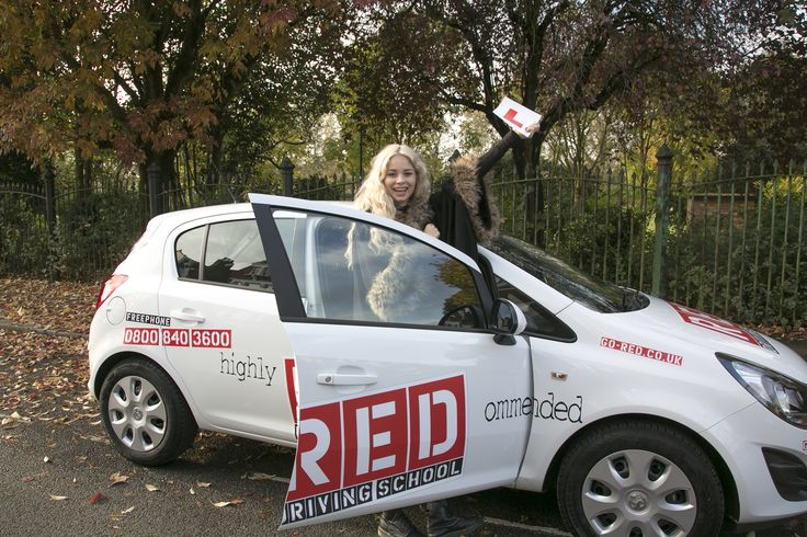 Singer #NinaNesbitt is learning to drive with RED! #nesbians
