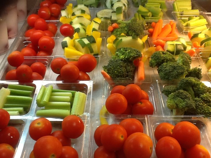 TIP: Alternate colors and shapes of vegetable options. (Photo from Grapevine-Colleyville ISD, TX)